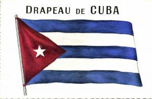 cuba, National Flag of the Republic (1960s) Patriotic