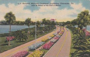 Florida Clearwater Beautiful Memorial Causeway Connecting Clearwater With Its...