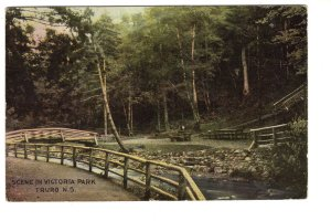 Bridge Victoria Park, Truro, Nova Scotia,Used Warwick