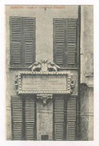 GENOVA, ITALY, 00-10s : Casa di Cristoforo Colombo