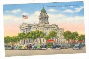 Court House, Marion, Indiana, 30-40s