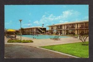 TX Albert Pick Motel Pool SAN ANTONIO TEXAS Postcard PC