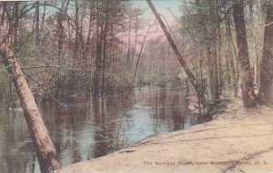 North Carolina Southern Pines The Sumbee River Albertype