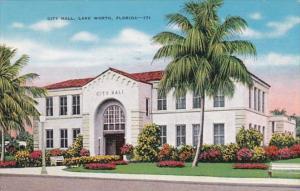 Florida Lake Worth City Hall 1947