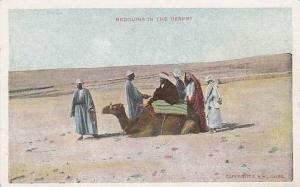 Bedouins In The Desert, Camel, Egypt, Africa, 1900-1910s