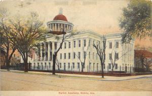 F15/ Mobile Alabama Postcard c1910 Barton Academy 3