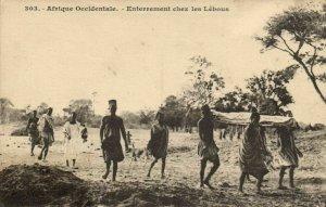 CPA AK Sénégal Afrique Fortier 303. Enterrement chez les Lébous (68123)