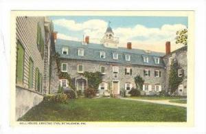 Bell House, Erected 1745, Bethlehem, Pennsylvania, 1900-1910s