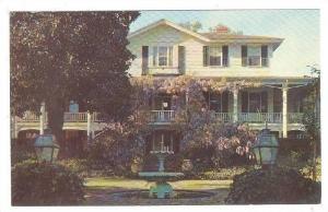 Kirkland Family Home, Kamschatka, Camden, South Carolina, 40-60s