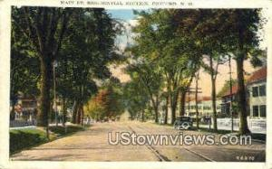 Main St. Concord NH 1938