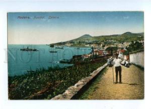 173098 PORTUGAL MADEIRA FUNCHAL Leiteiro Vintage postcard