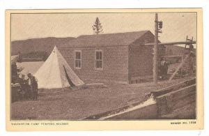 Valcartier camp , 1910s ; Saint-Gabriel-de-Valcartier , Quebec , Canada : Pum...