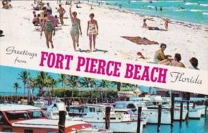 Florida Greetings From Fort Pierce Beach