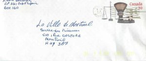 Entier Postal Stationery Canada Post Balance Dayton Perce