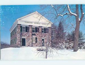 Surface Wear Pre-1980 MUSEUM SCENE Framingham Center - Near Boston MA ho9791