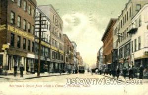 Merrimack St. Haverhill MA 1907