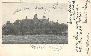 ALL SAINTS SCHOOL Sioux Falls, South Dakota 1905 Vintage Postcard