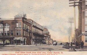 CEDAR RAPIDS , Iowa , PU-1907 ; Sycamore Street