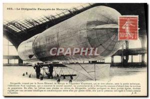 Old Postcard Aviation Zeppelin Airship Baron Edmond de Marcay Kluytmans