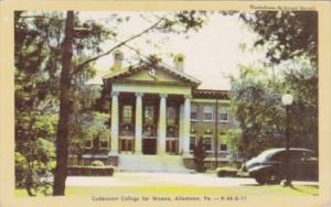 Pennsylvania Allentown Cedarcrest College For Women Dexter Press