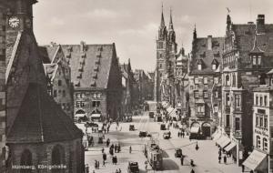 RP: NURNBERG , Bavaria , Germany , 20-40s ; Konigsrasse