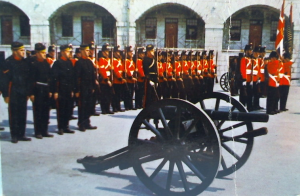 Old Fort Henry - Kingston, Ontario - Guards on Parade with Gun