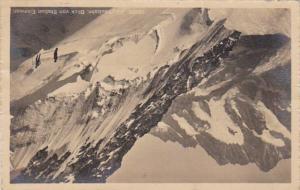 Switzerland Jungfraubahn Blick von Station Eismeer 1918 Photo