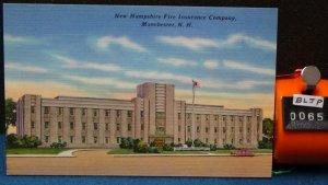 STD Vintage New Hampshire Fire Insurance Company Manchester New Hampshire Unpost