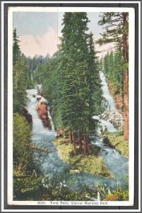 Montana, Glacier National Park Twin Falls - [MT-006]