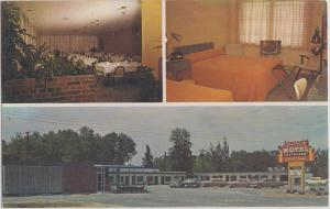 Dade City FL -  Valencia Restaurant and Motel, U.S. Highways 301 and 98, 1960s