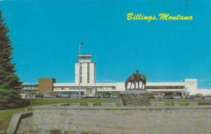 Exterior,  Logan International Airport, Billings,  Montana,   PU_1977