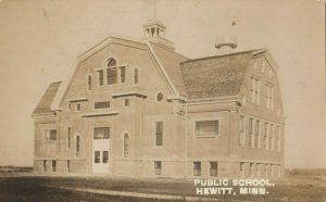 RP: HEWITT , Minnesota , 1908 ; Public School