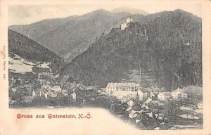 Gutenstein Austria Scenic View Gruss aus Antique Postcard J39423