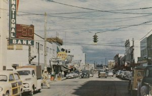 FAIRBANKS , Alaska , 40-50s ; Day Scene of Second Avenue
