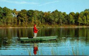 Fishing Scene Fishing From Boat