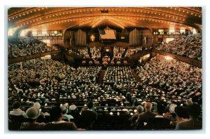 Postcard Sunday Worship Service at the Ocean Grove Auditorium, NJ 1968 E46