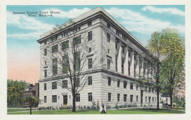 FLINT , Michigan, 1900-10s ; Court House