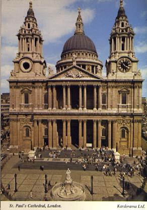 POSTAL 57118: St Paul s Cathedral London
