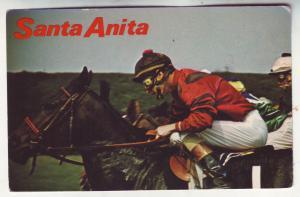 P494 JLs vintage sanita anita horse racing arcadia calif