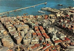 Lebanon Beyrouth Beirut aerial view postcard