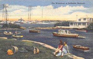 The Waterfront Salt Kettle Bermuda 1952