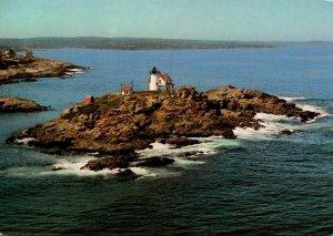 Maine Cape Neddick Nubble Lighthouse