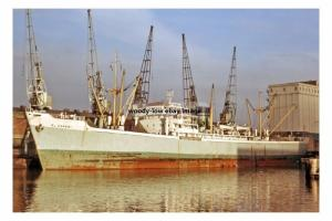 mc4223 - Nigerian Cargo Ship - El Kanemi , built 1956 - photograph 6x4