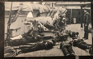 Mint Germany Real Picture Postcard RPPC Cadets Training Kaiserliche Marine WW1 C