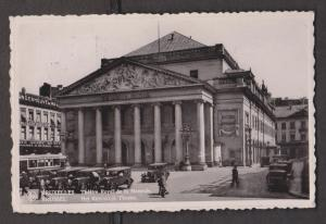 Royal Monnaie Theatre, Brussels, Belgium - Real Photo - Used 1937
