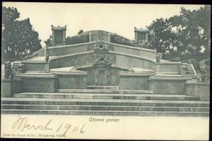 china, HONG KONG, Chinese Graves (1906)