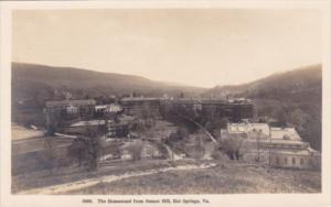 Virginia Hot Springs The Homestead From Sunset Hill Real Photo