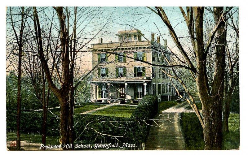 MA - Greenfield. Prospect Hill School