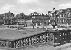 Dresden Zwinger Brunnen Fountain Castle Chateau