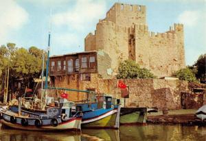 Turkey Anadolu Hisari Istanbul boats bateaux port harbour